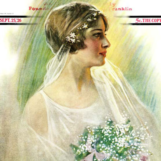 WH Coffin Cover Artist Saturday Evening Post 1926_09_25 Copyright crop | Best of 1920s Ad and Cover Art
