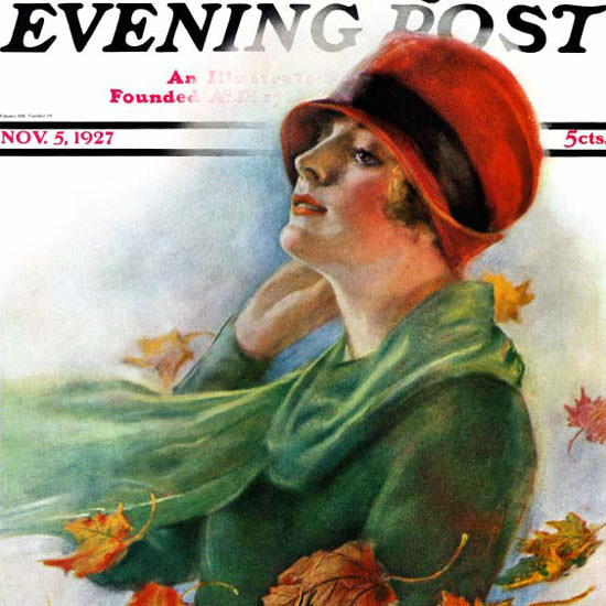 WH Coffin Cover Artist Saturday Evening Post 1927_11_05 Copyright crop | Best of 1920s Ad and Cover Art