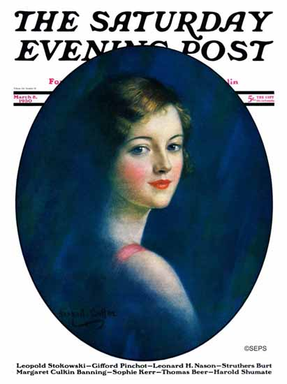 WH Coffin Cover Artist Saturday Evening Post 1930_03_08 | The Saturday Evening Post Graphic Art Covers 1892-1930