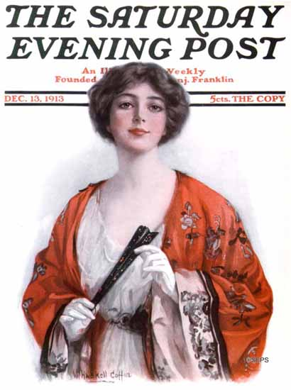WH Coffin Saturday Evening Post 1913_12_13   The Saturday Evening Post Graphic Art Covers 1892-1930