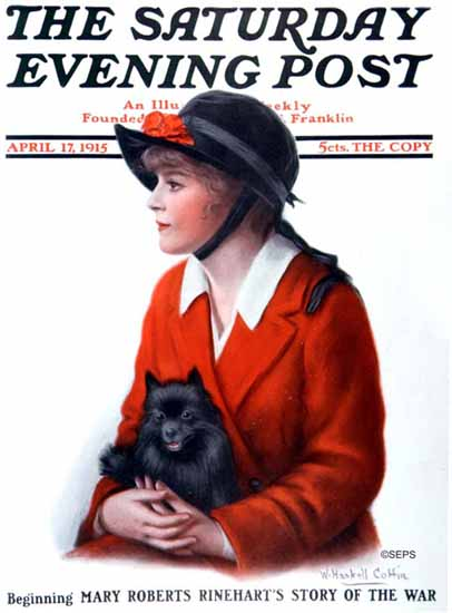 WH Coffin Saturday Evening Post 1915_04_17 | The Saturday Evening Post Graphic Art Covers 1892-1930