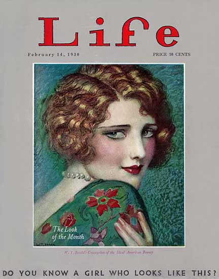 WT Benda Life Humor Magazine 1930-02-14 Copyright Sex Appeal | Sex Appeal Vintage Ads and Covers 1891-1970