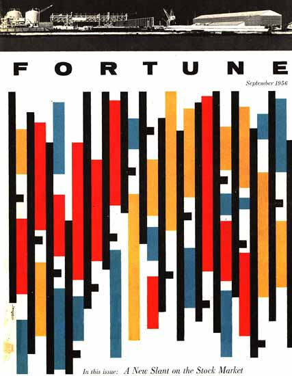 Walter Allner Fortune Magazine September 1956 Copyright | Fortune Magazine Graphic Art Covers 1930-1959