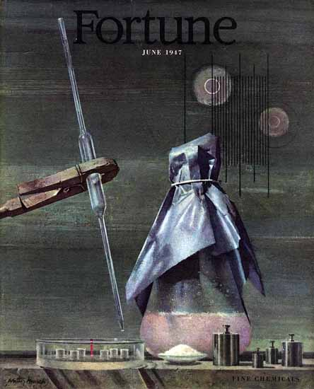 Walter Murch Fortune Magazine June 1947 Copyright | Fortune Magazine Graphic Art Covers 1930-1959