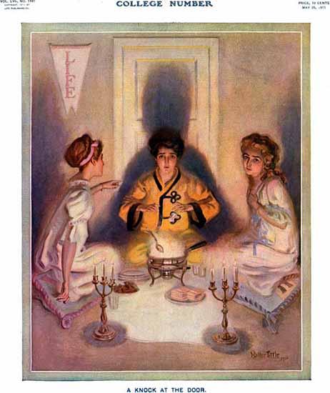 Walter Tittle Life Humor Magazine 1911-05-25 Copyright | Life Magazine Graphic Art Covers 1891-1936