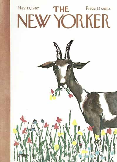 Warren Miller The New Yorker 1967_05_13 Copyright | The New Yorker Graphic Art Covers 1946-1970