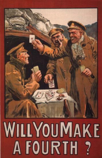 Will You Make A Fourth Ireland | Vintage War Propaganda Posters 1891-1970