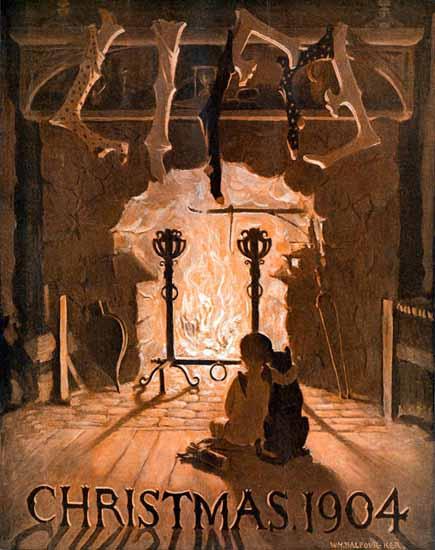 William Balfour Ker Life Humor Magazine 1904-12-22 Copyright | Life Magazine Graphic Art Covers 1891-1936