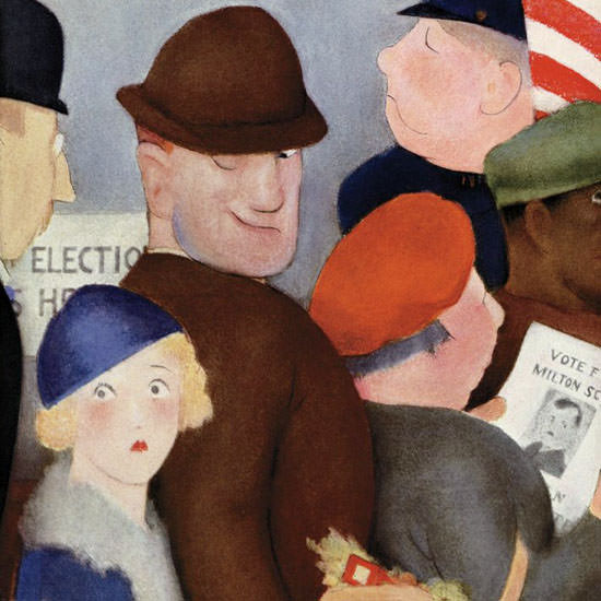 William Cotton The New Yorker 1932_11_05 Copyright crop   Best of 1930s Ad and Cover Art