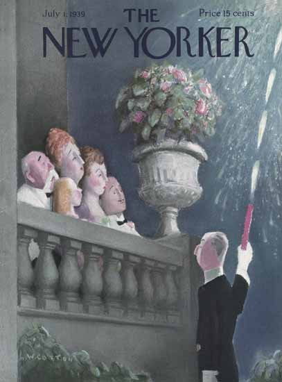 William Cotton The New Yorker 1939_07_01 Copyright | The New Yorker Graphic Art Covers 1925-1945