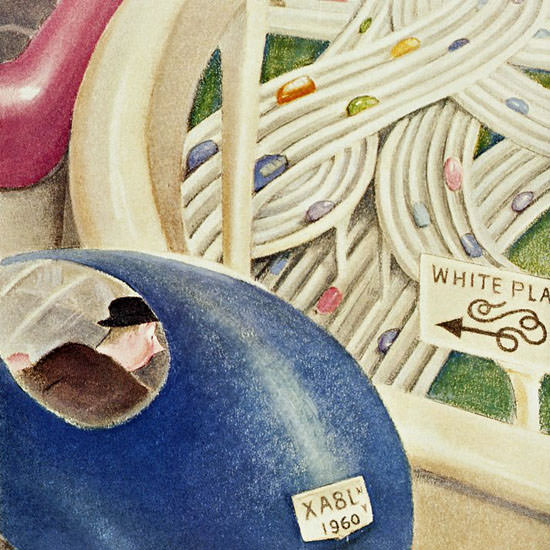 William Cotton The New Yorker 1940_06_01 Copyright crop | Best of Vintage Cover Art 1900-1970