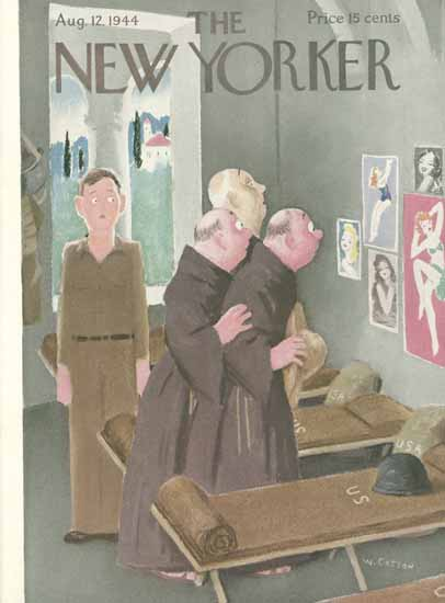 William Cotton The New Yorker 1944_08_12 Copyright | The New Yorker Graphic Art Covers 1925-1945