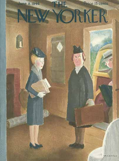 William Cotton The New Yorker 1946_06_08 Copyright | The New Yorker Graphic Art Covers 1946-1970