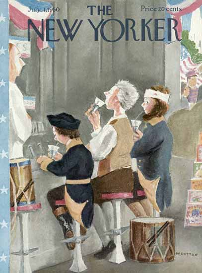 William Cotton The New Yorker 1950_07_01 Copyright | The New Yorker Graphic Art Covers 1946-1970