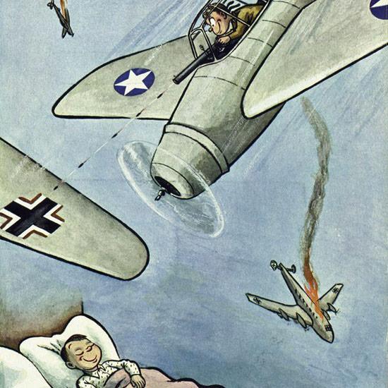 William Steig The New Yorker 1943_07_17 Copyright crop | Best of Vintage Cover Art 1900-1970