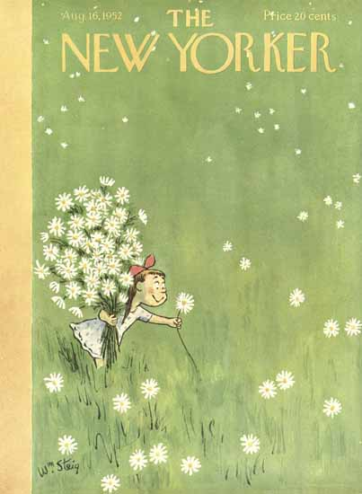 William Steig The New Yorker 1952_08_16 Copyright | The New Yorker Graphic Art Covers 1946-1970