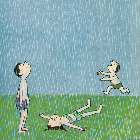 William Steig The New Yorker 1959_06_06 Copyright crop | Best of Vintage Cover Art 1900-1970