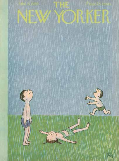 William Steig The New Yorker 1959_06_06 Copyright | The New Yorker Graphic Art Covers 1946-1970