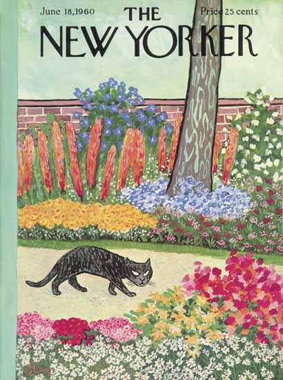 William Steig The New Yorker 1960_06_18 Copyright | The New Yorker Graphic Art Covers 1946-1970