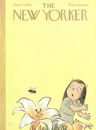 William Steig The New Yorker 1961_06_24 Copyright | The New Yorker Graphic Art Covers 1946-1970