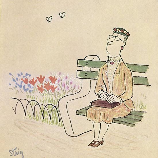 William Steig The New Yorker 1964_05_23 Copyright crop | Best of Vintage Cover Art 1900-1970