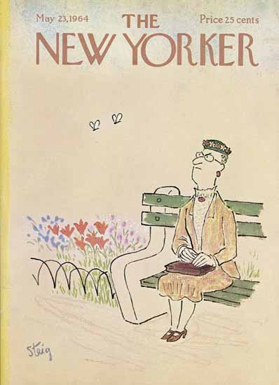 William Steig The New Yorker 1964_05_23 Copyright | The New Yorker Graphic Art Covers 1946-1970