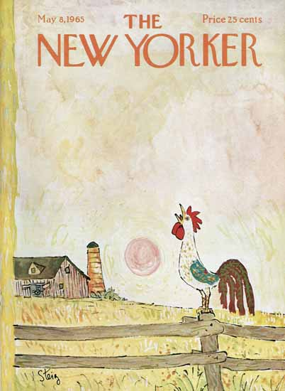 William Steig The New Yorker 1965_05_08 Copyright | The New Yorker Graphic Art Covers 1946-1970