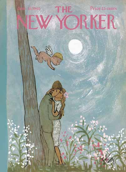 William Steig The New Yorker 1965_06_19 Copyright | The New Yorker Graphic Art Covers 1946-1970