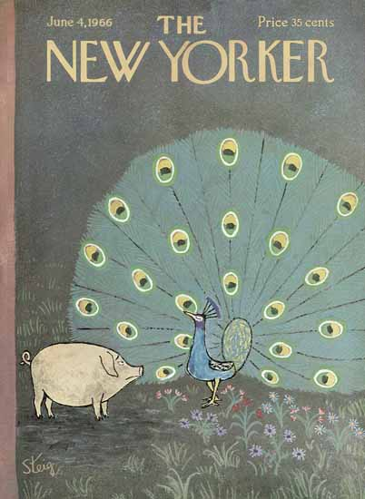 William Steig The New Yorker 1966_06_04 Copyright | The New Yorker Graphic Art Covers 1946-1970