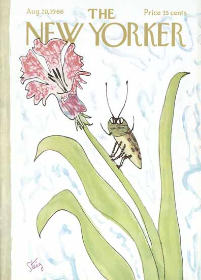 William Steig The New Yorker 1966_08_20 Copyright | The New Yorker Graphic Art Covers 1946-1970