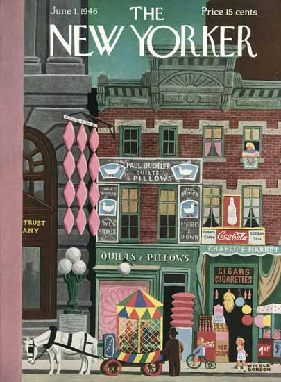 Witold Gordon The New Yorker 1946_06_01 Copyright | The New Yorker Graphic Art Covers 1946-1970