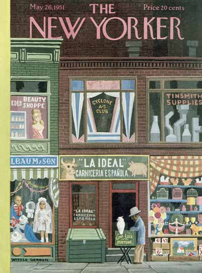 Witold Gordon The New Yorker 1951_05_26 Copyright | The New Yorker Graphic Art Covers 1946-1970