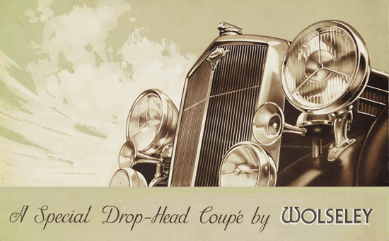 Wolseley Drop Head Coupe 1939 | Vintage Cars 1891-1970