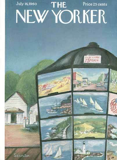 WomenArt Beatrice Szanton Cover The New Yorker 1960_07_16 Copyright | 69 Women Cover Artists and 826 Covers 1902-1970