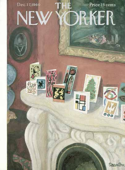 WomenArt Beatrice Szanton Cover The New Yorker 1960_12_17 Copyright | 69 Women Cover Artists and 826 Covers 1902-1970