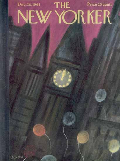 WomenArt Beatrice Szanton Cover The New Yorker 1961_12_30 Copyright | 69 Women Cover Artists and 826 Covers 1902-1970