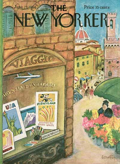 WomenArt Beatrice Szanton Cover The New Yorker 1968_06_22 Copyright | 69 Women Cover Artists and 826 Covers 1902-1970