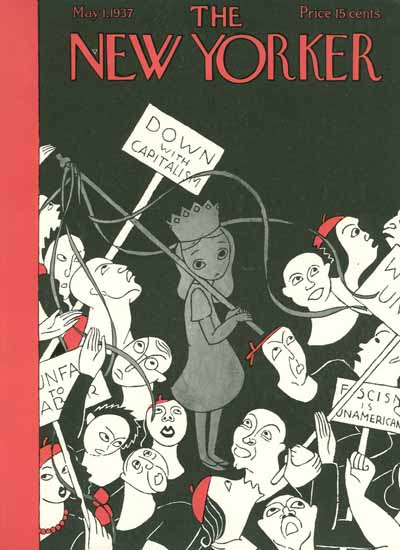 WomenArt Christina Malman Cover The New Yorker 1937_05_01 Copyright | 69 Women Cover Artists and 826 Covers 1902-1970