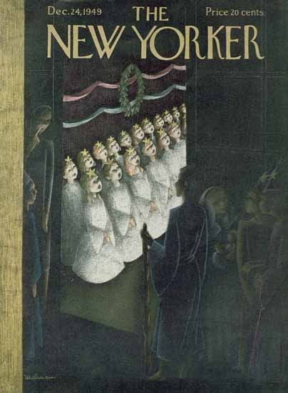 WomenArt Christina Malman Cover The New Yorker 1949_12_24 Copyright | 69 Women Cover Artists and 826 Covers 1902-1970