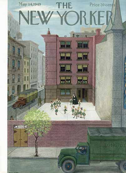 WomenArt Edna Eicke Cover The New Yorker 1949_05_14 Copyright | 69 Women Cover Artists and 826 Covers 1902-1970