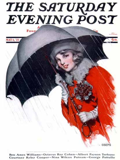 WomenArt Ellen Pyle Cover Saturday Evening Post 1922_05_06 | 69 Women Cover Artists and 826 Covers 1902-1970