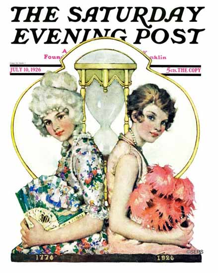 WomenArt Ellen Pyle Cover Saturday Evening Post 1926_07_10 | 69 Women Cover Artists and 826 Covers 1902-1970