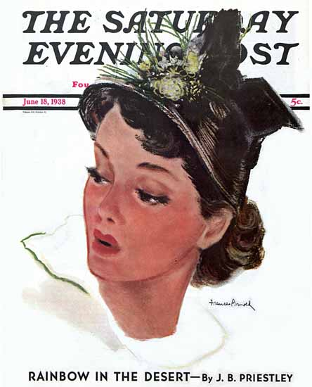 WomenArt Frances Arnold Saturday Evening Post Cover Art 1938_06_18   69 Women Cover Artists and 826 Covers 1902-1970
