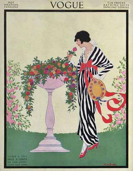 WomenArt Helen Dryden Vogue Cover 1913-06-01 Copyright | 69 Women Cover Artists and 826 Covers 1902-1970