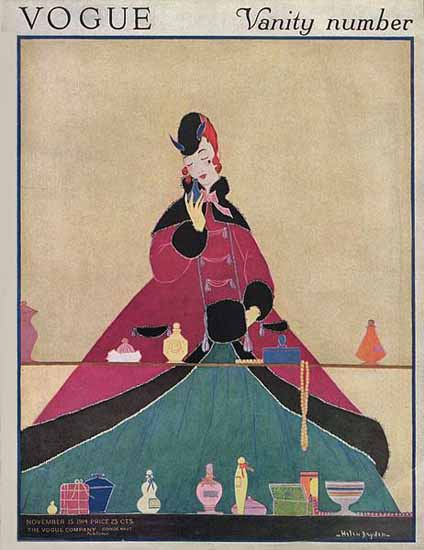 WomenArt Helen Dryden Vogue Cover 1914-11-15 Copyright | 69 Women Cover Artists and 826 Covers 1902-1970