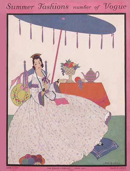 WomenArt Helen Dryden Vogue Cover 1915-06-01 Copyright | 69 Women Cover Artists and 826 Covers 1902-1970