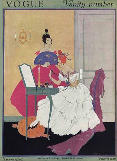 WomenArt Helen Dryden Vogue Cover 1915-11-15 Copyright | 69 Women Cover Artists and 826 Covers 1902-1970