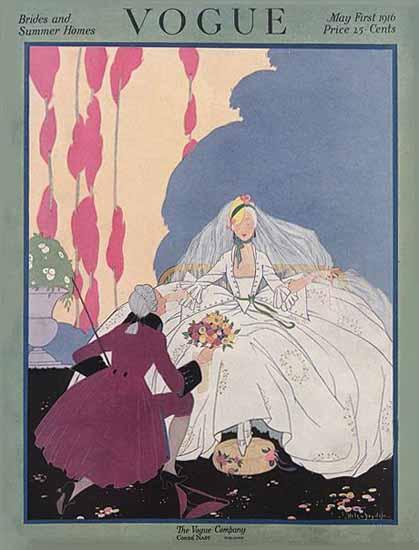 WomenArt Helen Dryden Vogue Cover 1916-05-01 Copyright   69 Women Cover Artists and 826 Covers 1902-1970