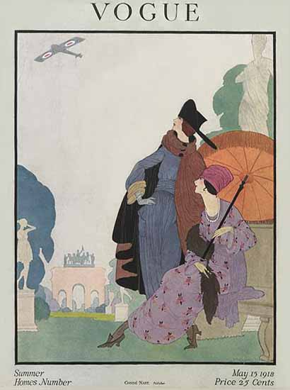 WomenArt Helen Dryden Vogue Cover 1918-05-15 Copyright | 69 Women Cover Artists and 826 Covers 1902-1970
