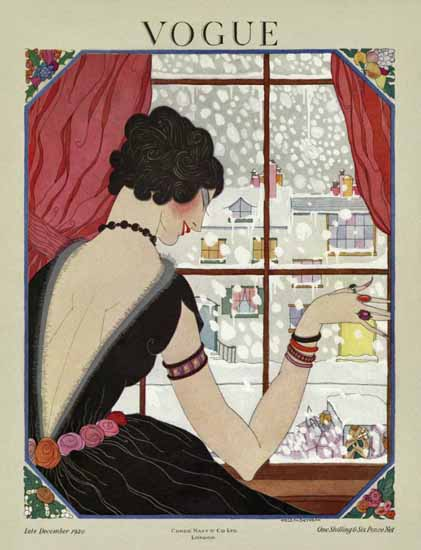WomenArt Helen Dryden Vogue Cover 1920-12-15 Copyright | 69 Women Cover Artists and 826 Covers 1902-1970